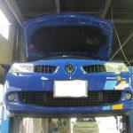 Renault・MEGANE RS >>クワイフLCDを組み込む!!
