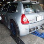 Renault・Clio V6 Sport!リアブレーキが、ちょっと・・・。っとくれば、Bremboでしょう!!