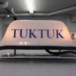 オートリキシャにTUKTUKの行灯を取り付ける!!