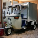 "EV オートリキシャ "" BOSCO "" 目指すはPiaggio Ape50 Vintage だぁ!!」"